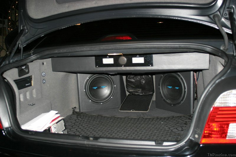 Subwoofers For Cars Bmw  Series